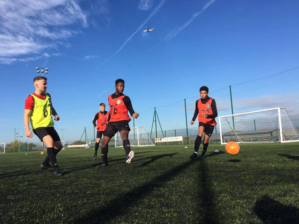 Manchester Football Trial - May 28th - AM.  Ages 15 to 28. Hurry - 4 spaces left at this price!