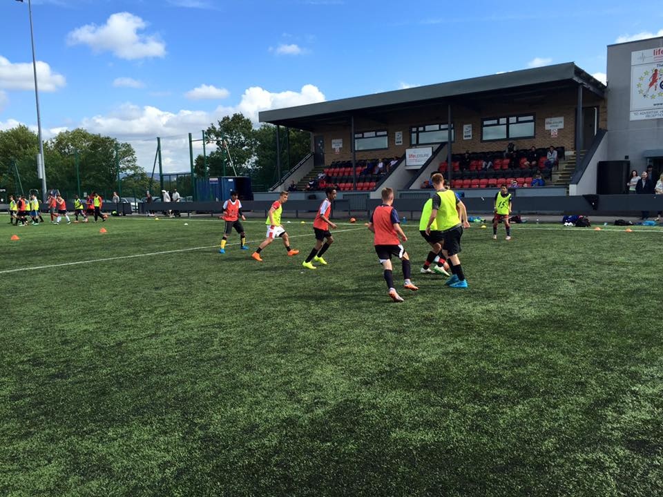 Manchester Football Trial - 25th October - AM.  Ages 10-14 - Hurry Only 6 spaces left!