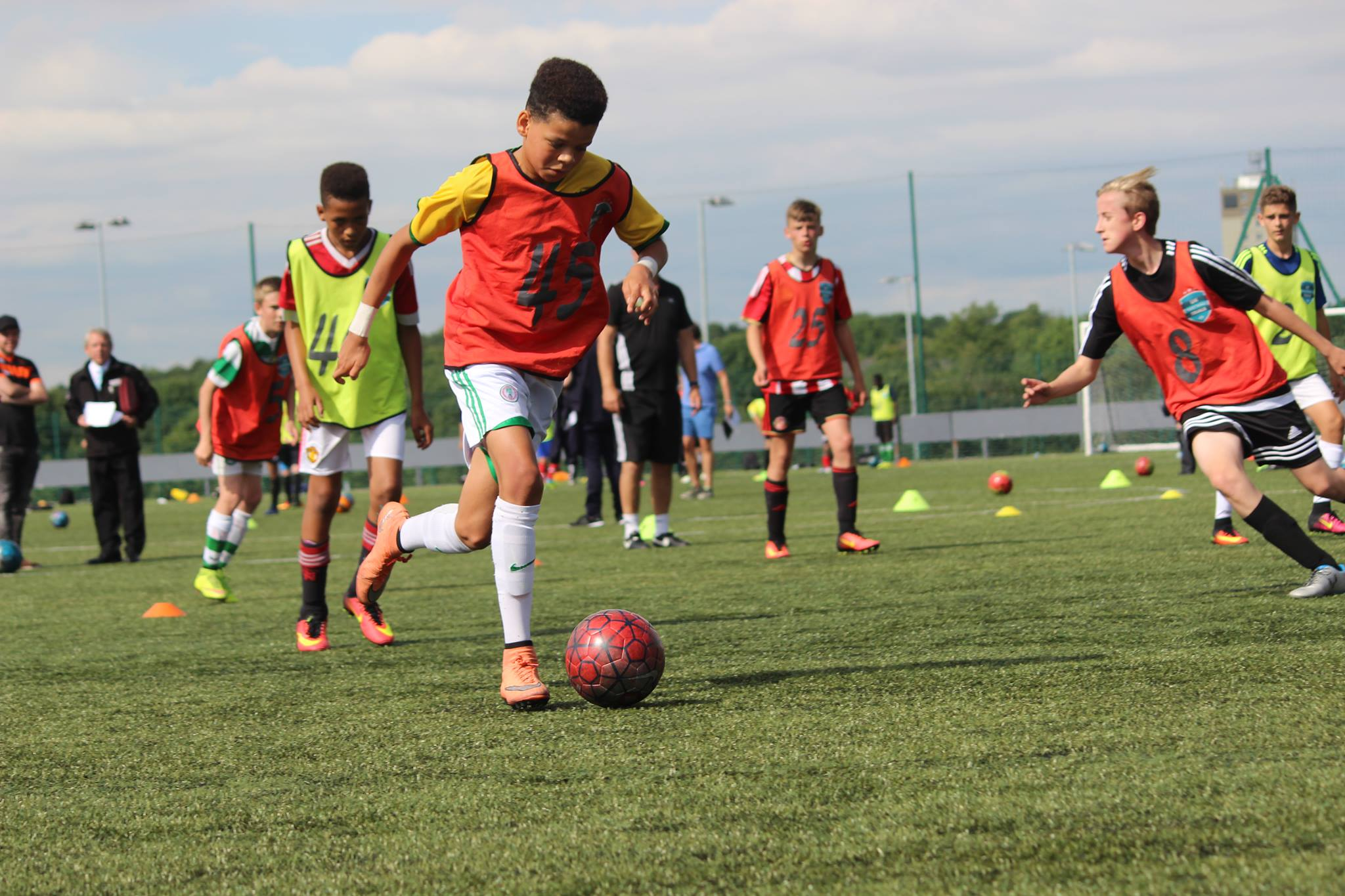 Manchester Football Trial May 28th - AM - Ages 10 to 14. Hurry - 3 spaces left at this price!