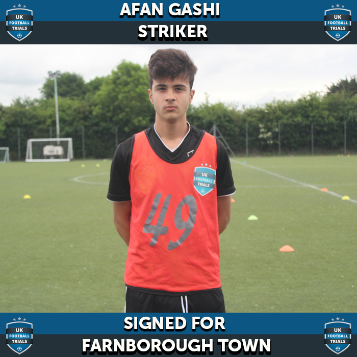 24 Goal Striker Signs for Semi Pro Academy