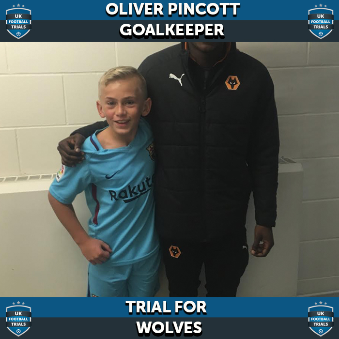 Goalkeeper, 12, On Trial for Wolves