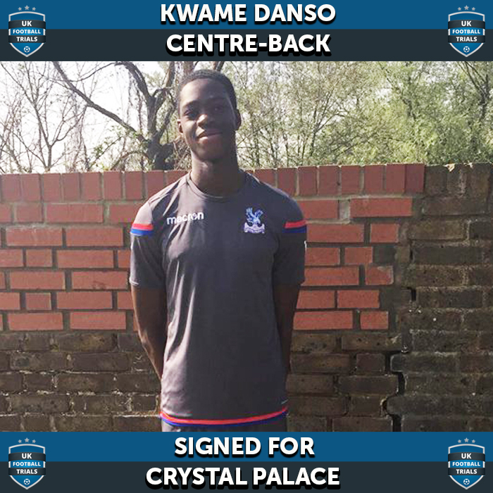 Kwame Signs for Crystal Palace & Called Up to Ghana u17's
