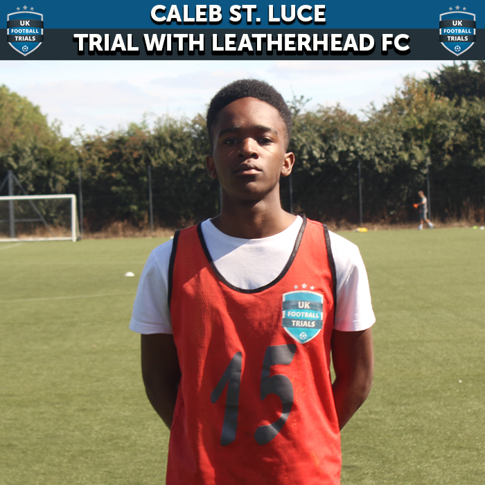 16-year-old St. Luce Lands Semi-Pro Trial