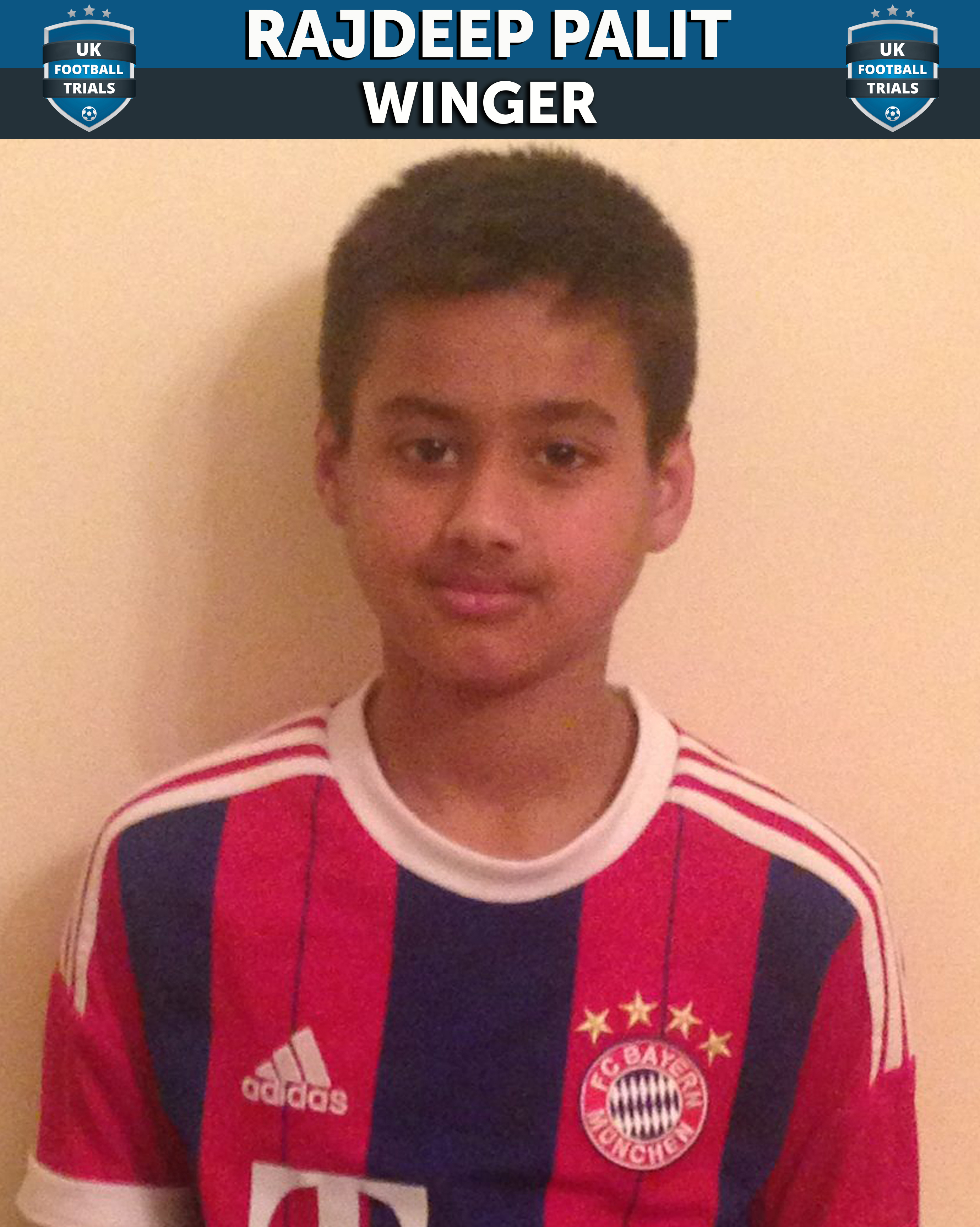 11-year-old Rajdeep signs Academy Contract