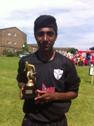 Dinesh Ginella, Aged 14, Trials With Brentford And Crystal Palace