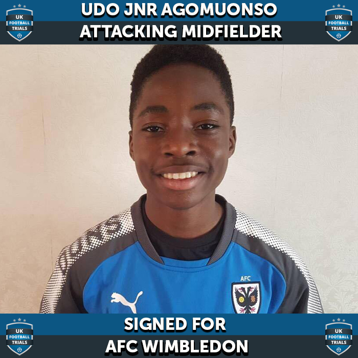 AFC Wimbledon Sign Youngster with World Cup Dream