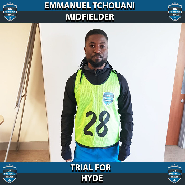 Emmanuel Tchouani - Aged 24 - Trial for Hyde