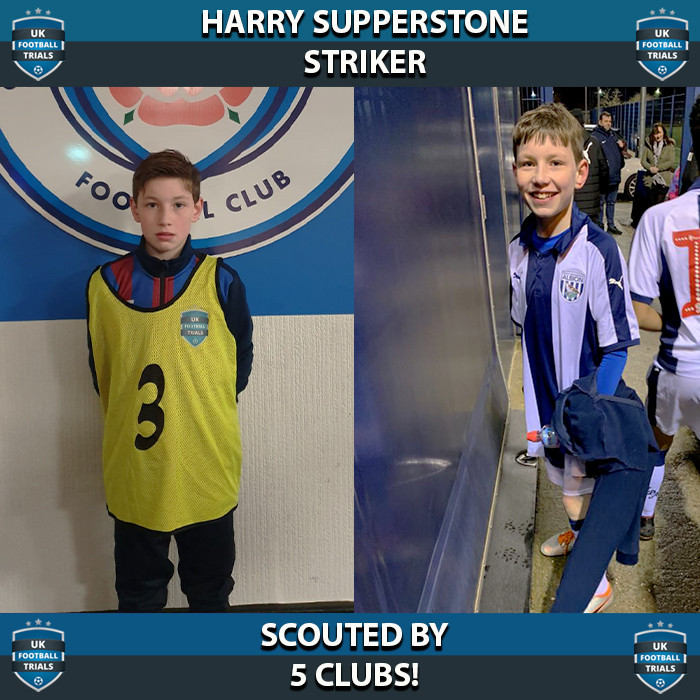 Harry Supperstone - Aged 11 - Scouted by 5 Clubs!