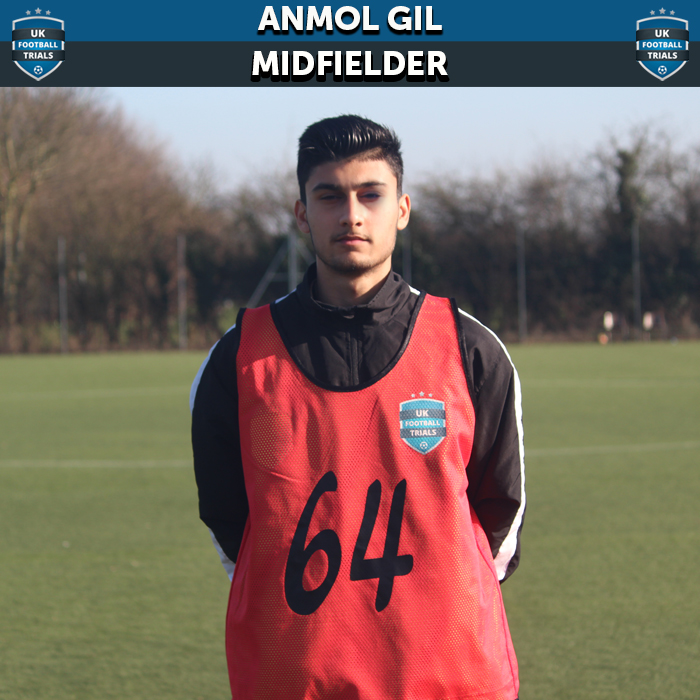 Anmol Gil - Aged 15 - Six-Week-Trial with Charlton Athletic