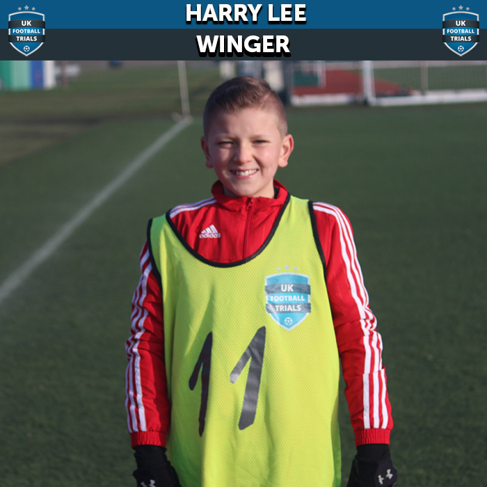 Harry Lee - Aged 11 - Trial with West Ham and Reading Monitoring