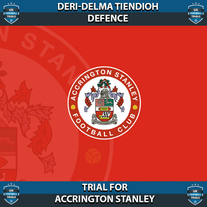 Deri-Delma - Aged 16 - Trial for Accrington Stanley