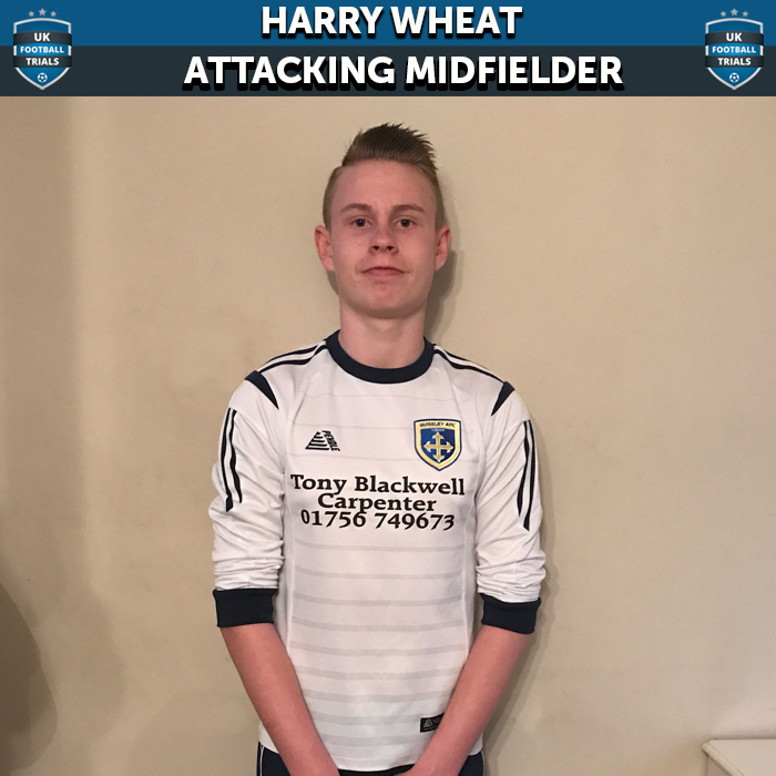 Harry Wheat - Aged 14 - Training with Guiseley AFC after being Scouted on Second Trial