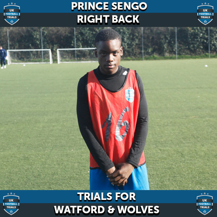 Prince Sengu - Aged 14 - Trial for Watford and Wolves